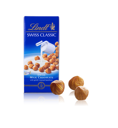 Swiss Milk Chocolate Hazelnuts l